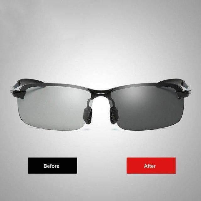 Photochromic Sunglasses with Polarized Lens-Buy 2 Free Shipping