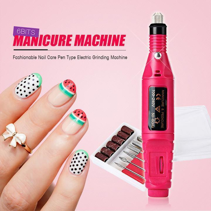 50%OFF | Nail Art Electric Nails Repair Drill Machine,Get three nail stickers to free