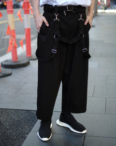 LIMI feu 2-WAY PARACHUTE PANTS