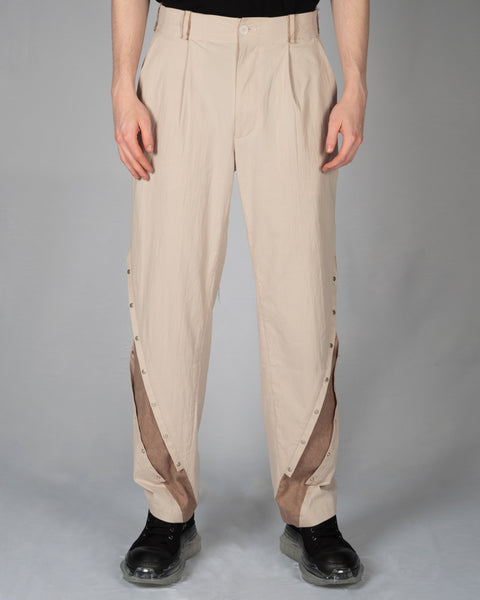 PROFESSOR.E BUTTON UP PANTS