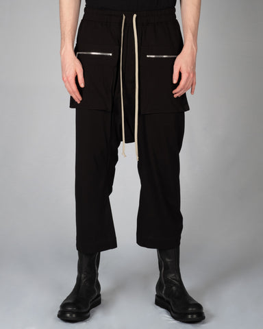 DRKSHDW CARGO CROPPED PANTS