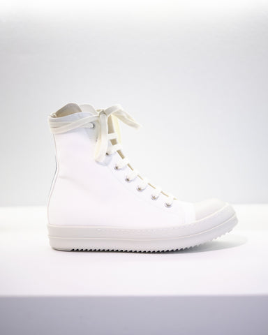 HI-TOP SNEAKER W - CHALK WHITE