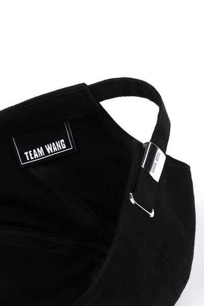 TEAM WANG VELVET LOGO CAP