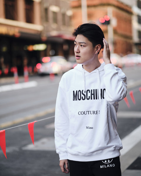 MOSCHINO COUTURE! OVERSIZE HOODIE
