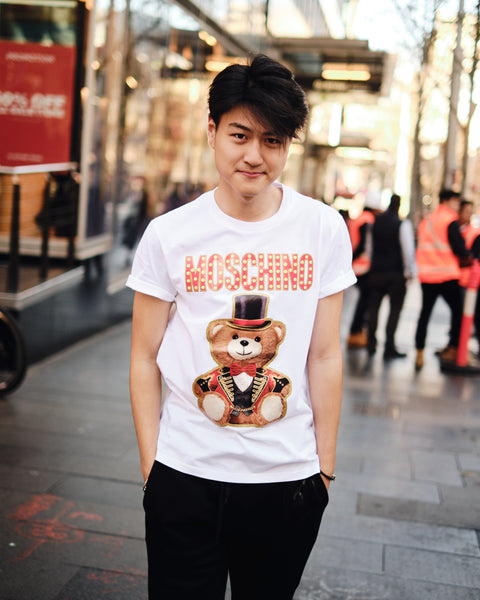 MOSCHINO CIRCUS BEAR T-SHIRT
