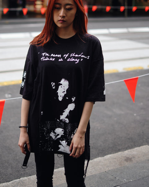 UNDERCOVER ALL OVER PRINT OVERSIZE TEE