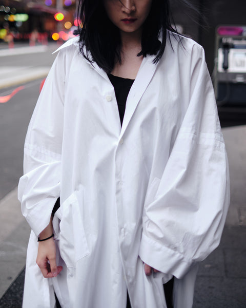 BLACK LINE LONG SHIRT