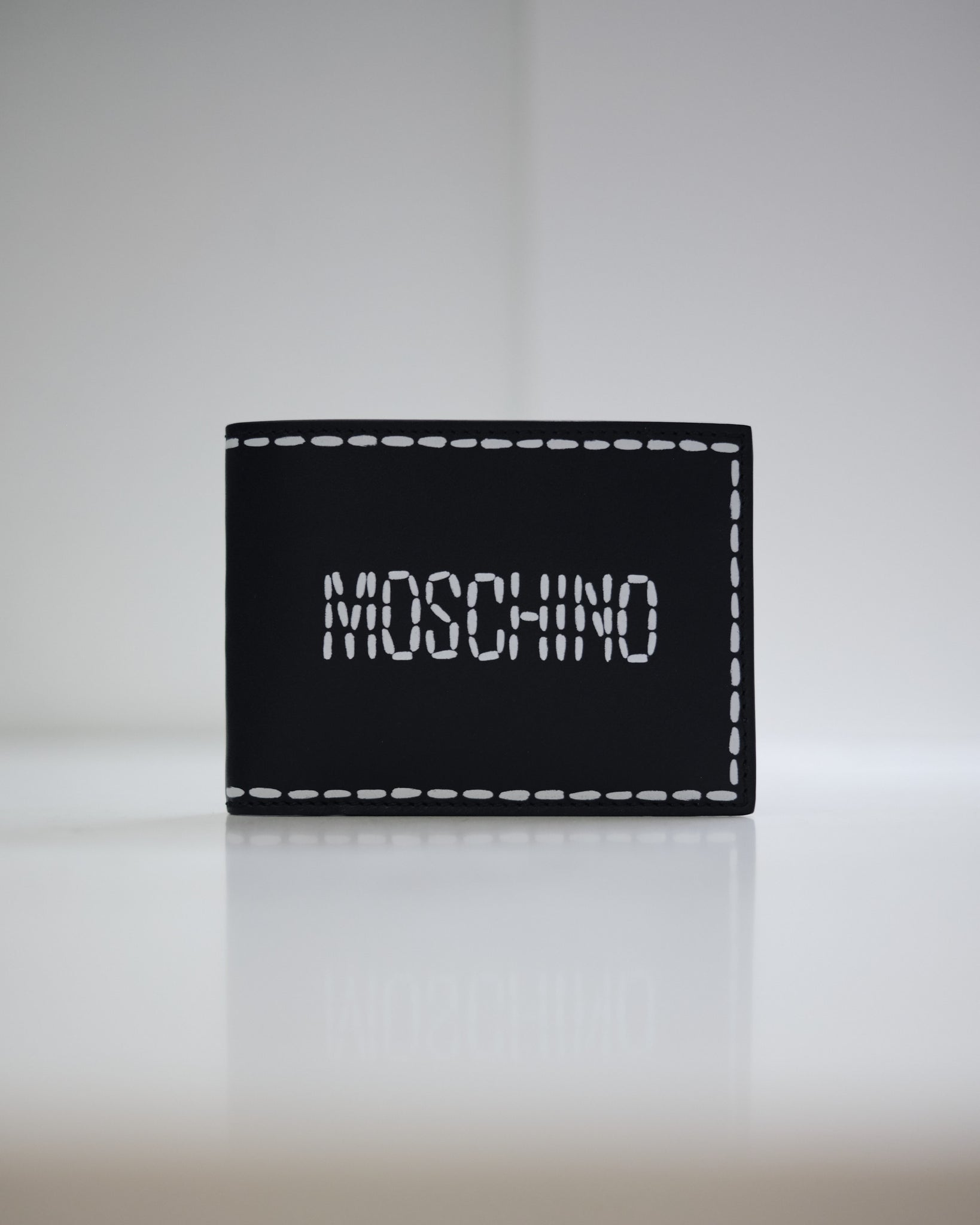 MOSCHINO DOTTED LINE WALLET