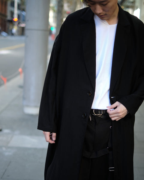 OVERSIZED SILKY COAT