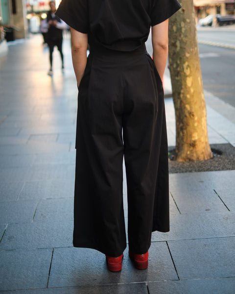 DUO BELT HIGH WAISTED PANTS