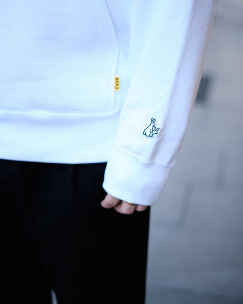THE EMPRESS HOODIE - WHITE
