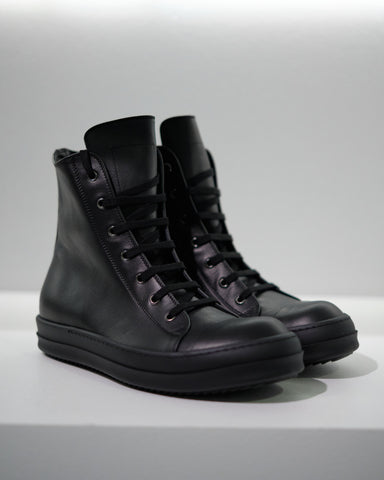 LEATHER HI-TOP SNEAKER M