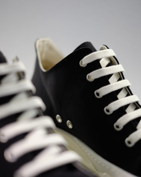 DRKSHDW ABSTRACT SNEAKER - BLACK/WHITE/CLEAR