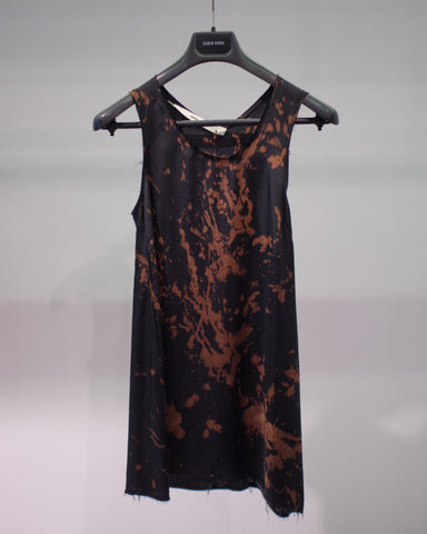 DAMIR DOMA TEA TANK TOP - BLEACHED COAL [BS1W0074-A1111-799]
