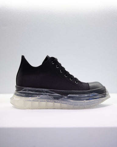 ABSTRACT SNEAKER - BLACK/BLACK/CLEAR