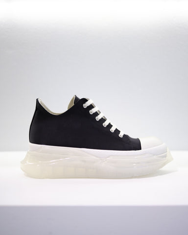 ABSTRACT SNEAKER - BLACK/WHITE/CLEAR