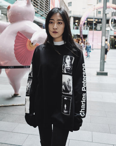 THESOLOIST x CHARLES PETERSON OVERSIZED SWEATSHIRT
