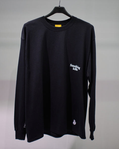 FR2 SMOKING KILLS BOX L/S TEE - BLACK