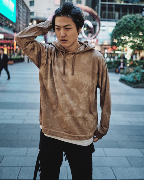 1017 ALYX 9SM CAMO COLLECTION HOODED L/S TEE