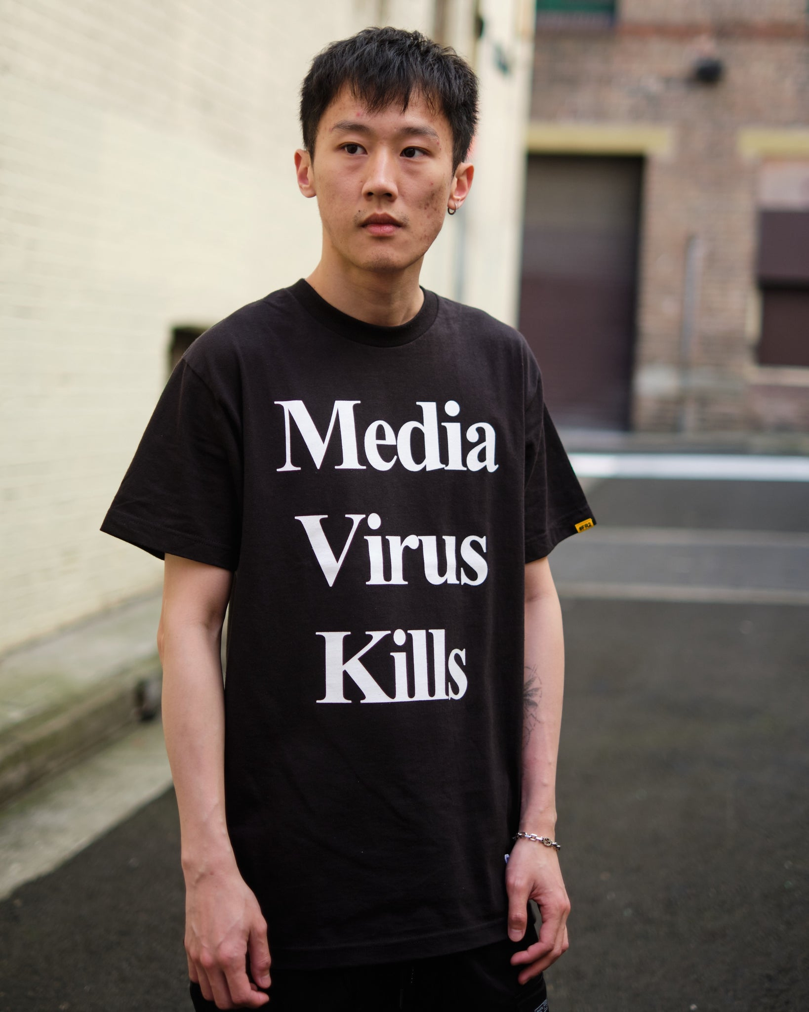 FR2 INQUIRING X #FR2 MEDIA VIRUS KILLS TEE