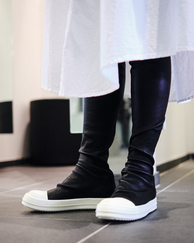 LEATHER SOCK SNEAKER