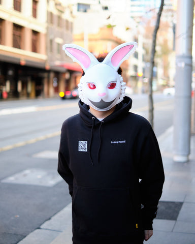 FXXKING RABBITS FACE MASK