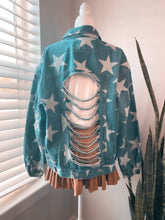 Load image into Gallery viewer, Never stop looking up | Denim Jacket