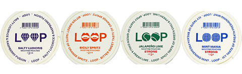 LOOP Nicotine Pouches now at Swebest Snus Philippines