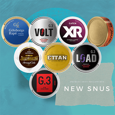 New snus in the Philippines