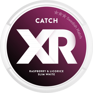 XR CATCH Raspberry & Licorice Slim White Portion
