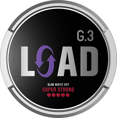 General G.3 LOAD Slim White Dry Super Strong