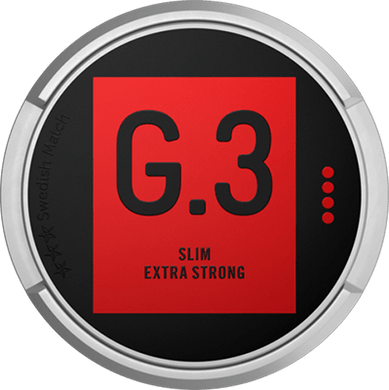 General G.3 Original Extra Strong Slim Portion