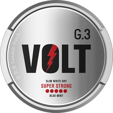 General G.3 VOLT Slim White Dry Super Strong