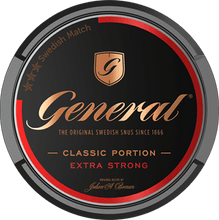 Load image into Gallery viewer, General Classic Extra Strong Original Portion