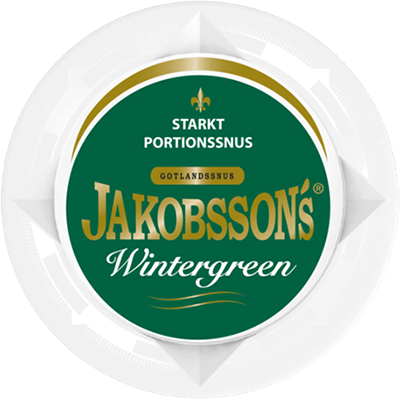 Jakobsson´s Wintergreen Strong Portion