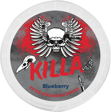 Killa Blueberry Slim Extra Strong All White