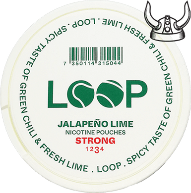 Loop Jalapeno Lime Slim Strong All White