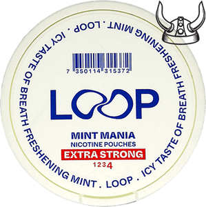 Loop Mint Mania Slim Extra Strong All White