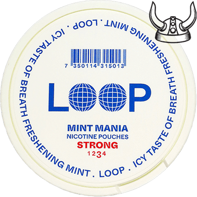 Loop Mint Mania Slim Strong All White
