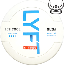 Load image into Gallery viewer, LYFT Ice Cool Strong Mint Slim All White Portion