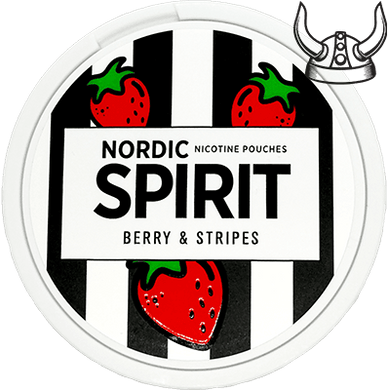 Nordic Spirit Berry & Stripes Slim All White Portion