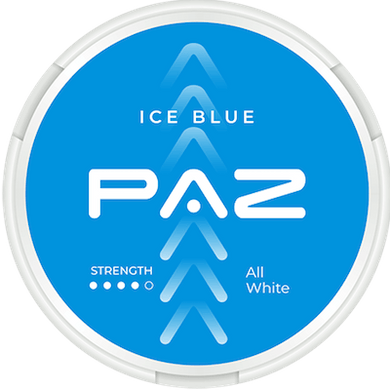 PAZ Ice Blue Extra Strong Slim ALL WHITE Portion