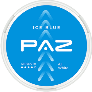 PAZ Ice Blue Extra Strong Slim All White