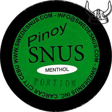 Pinoy Snus Menthol Original Portion