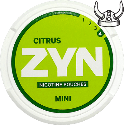 ZYN Citrus Mini Extra Strong All White Portion