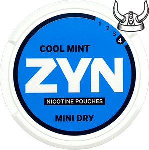 ZYN Cool Mint Mini Dry Extra Strong All White Portion