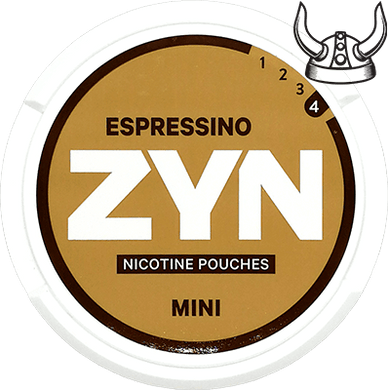 ZYN Espressino Mini Extra Strong ALL WHITE Portion