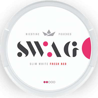 SWAG Fresh Red Slim Strong All White
