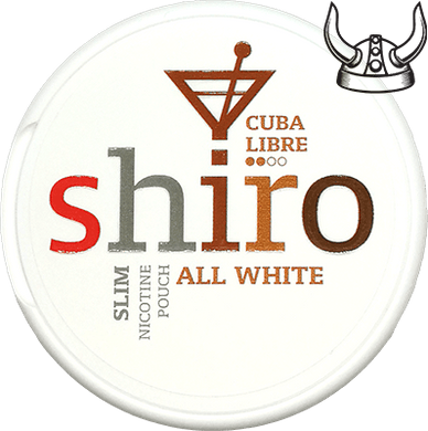 Shiro Cuba Libre Slim All White Portion
