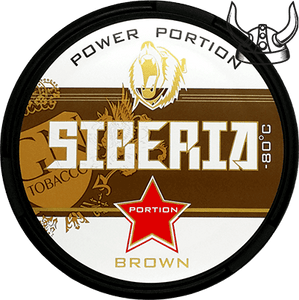 Siberia -80°C Brown Extremely Strong Portion